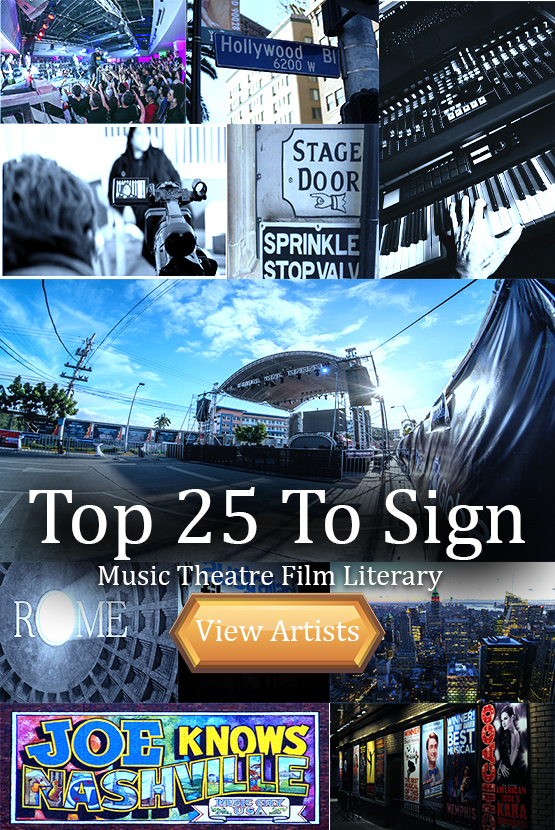 Top 25 Artists to Sign